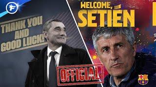 VIDEO: OFFICIEL : Quique Setien nouveau coach du FC Barcelone | Revue de presse