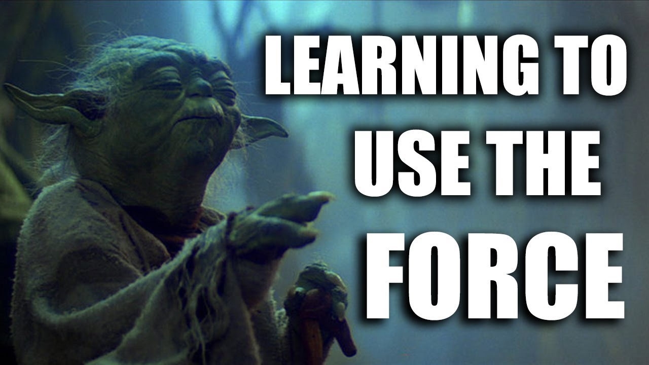 Learning To Use The Force - ROBERT SEPEHR