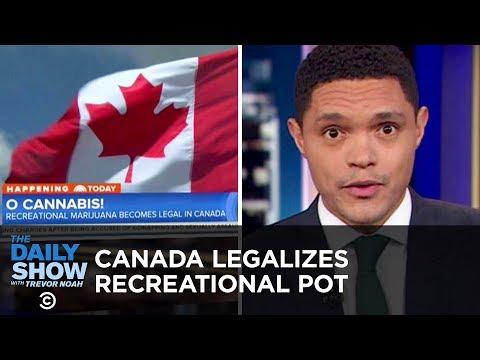 Canada Legalizes Marijuana & Slavery Ban Goes on Colorado's Ballot | The Daily Show