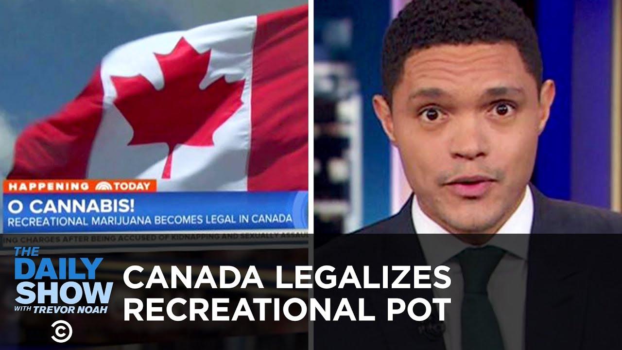 Canada Legalizes Marijuana & Slavery Ban Goes on Colorado's Ballot   The Daily Show