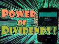Robinhood APP -  POWER of DIVIDEND RE-INVESTMENT!