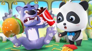 不守規則的大灰狼 | 最新好習慣兒歌童謠 | 卡通 | 動畫 | 寶寶巴士 | BabyBus