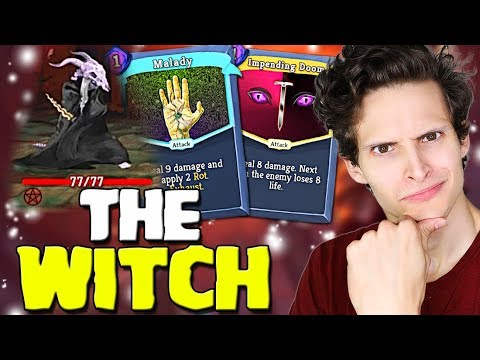 Slay The Spire - The Witch! First Look | Mod The Spire Gameplay