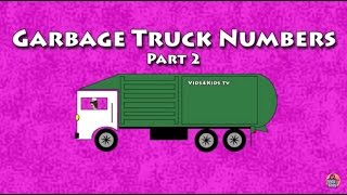 Vids4kids.tv -  Garbage Trucks Count 11-20 Video For Kids
