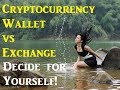 Cryptocurrency Wallet vs Exchange - Security in Cryptocurrency