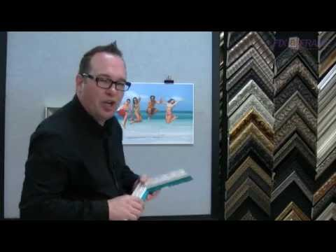 Choosing Picture Frame Colours At Fix-a-Frame Brisbane