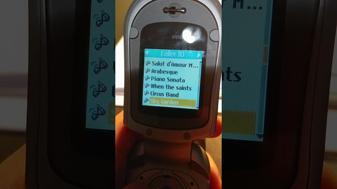 free lg phone ringtone vx3200