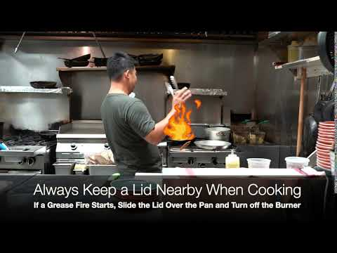 Chef Johnny's Video Tips: Always Keep a Lid Nearby