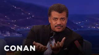 Neil DeGrasse Tyson Explains The Cosmic Perspective  - CONAN on TBS