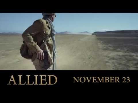 First look at #AlliedMovie starring Brad Pitt and Marion Cotillard.