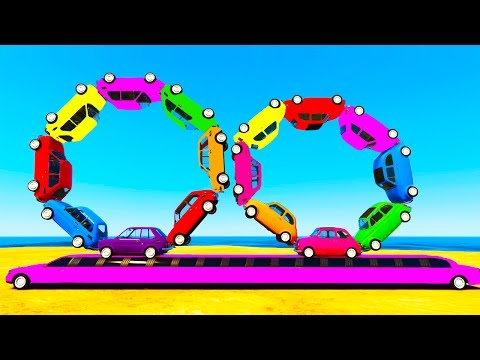 Thumbnail: LEARN COLORS w Truck and Learn Numbers in Spiderman Cars Cartoon for Kids Learning Video