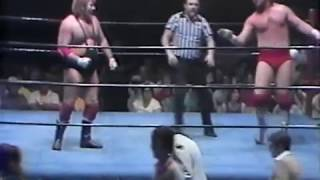 Ted DiBiase vs Bob Sweetan  (Mid-South Wrestling)
