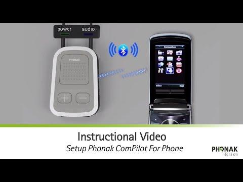 Setup Phonak ComPilot For Phone