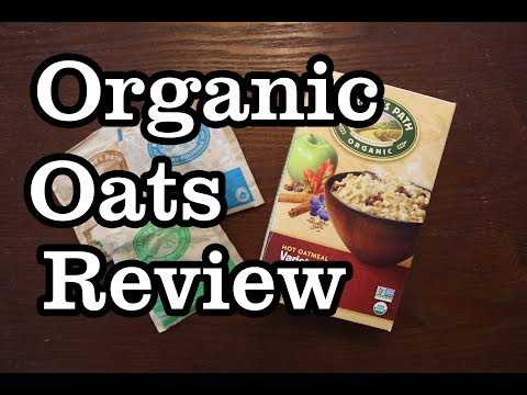 Healthy Snacks Product Review Nature's Path Organic Instant Oats