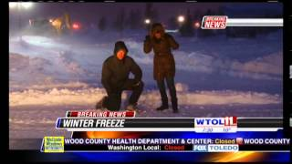 January 6th, 2014 Winter Storm Live Shot