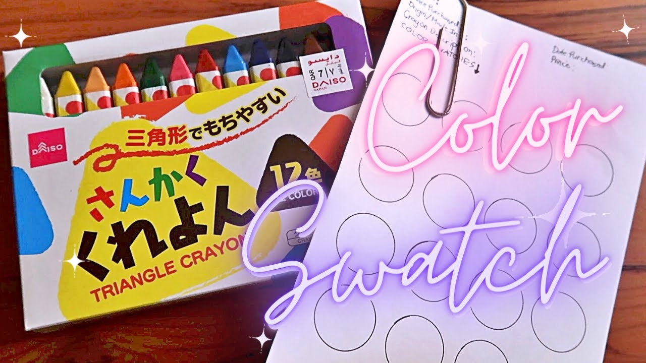 DAISO Product Review * Japanese Art Supplies Testing part 1