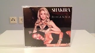 Shakira feat. rihanna - can't remember to forget you (single) (unboxing) hd