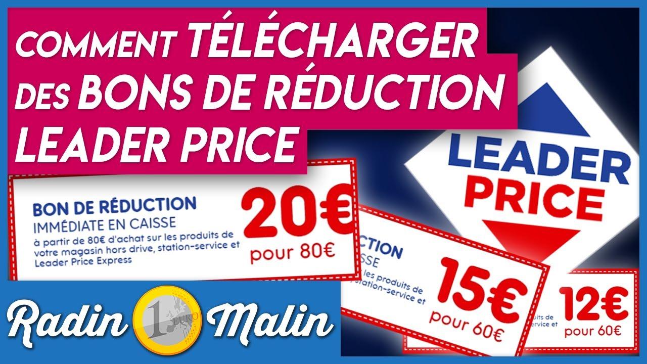 Comment Telecharger Des Bons De Reduction Leader Price A Imprimer Radin Malin Blog