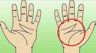 """Hast du ein """"M"""" in deiner Handfläche - Schau was es bedeutet!"""