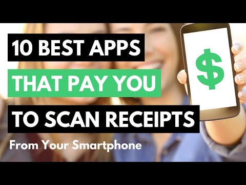 10 Best Free Apps That Pay You To Scan Receipts From Your Smartphone