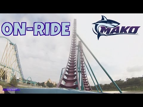 Mako On-ride Front Seat (HD POV) SeaWorld Orlando