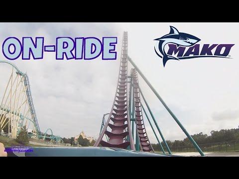 Mako Onride Front Seat HD POV SeaWorld Orlando
