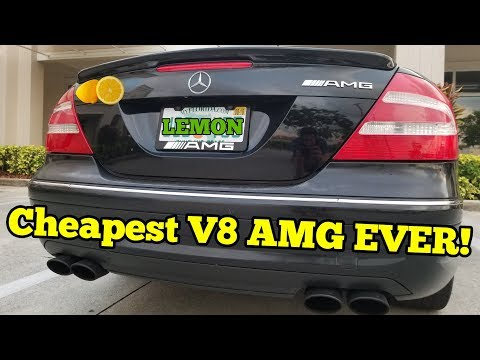 I Bought a Cheap LEMON Mercedes AMG but HAD to Give It Away...