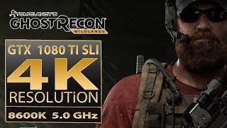 Ghost Recon Wildlands GTX 1080 TI SLI | Ghost Recon Wildlands 4K
