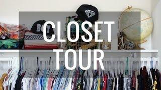 My Closet Tour | Imdrewscott