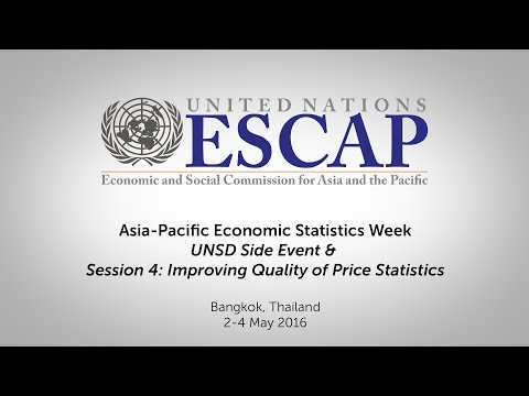 Asia-Pacific Economic Statistics Week - Side Event & Session 4