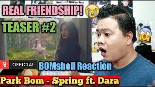 [Teaser 2] Park Bom(박봄) - Spring(봄) (feat. Sandara Park(산다라박)) | BOMSHELL REACTION