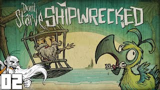 Don't Starve SHIPWRECKED!!!  Part 2 - 1080p HD PC Gameplay Walkthrough