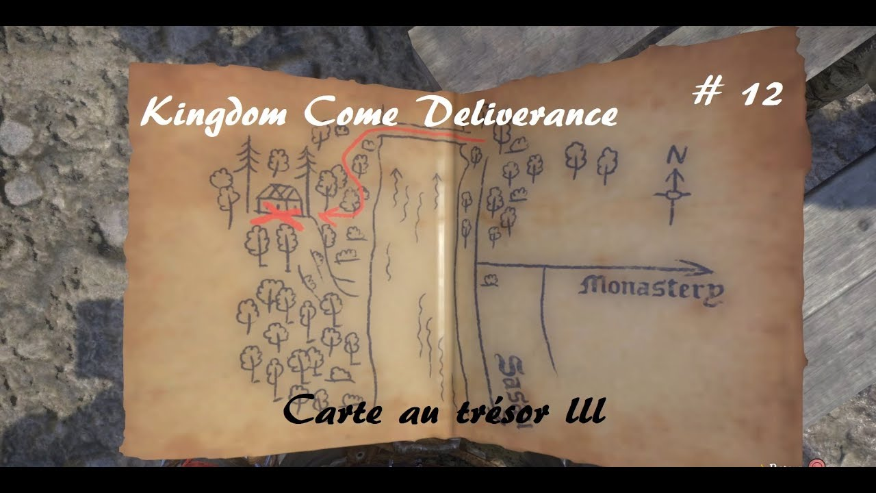 Carte Au Tresor 3 Kingdom Come.Kingdom Come Deliverance Carte Au Tresor Iii