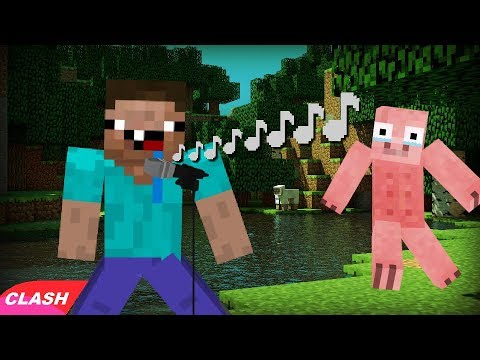 Musique minecraft le clash du cochon youtube - Minecraft cochon ...