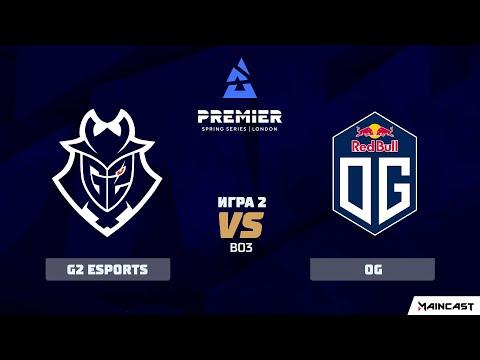 VOD: OG vs G2 Esports - BLAST Premier: Spring - Map 2