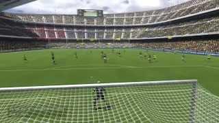 FIFA 14 Gameplay HD  (legendary level) || (poziom legendarny - demo) || 1080p