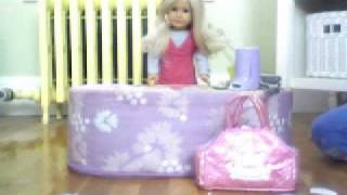 American Girl Doll Doctor Video