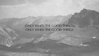 JONATHAN ROY - GOOD THINGS LYRICS