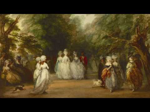 """Thomas Gainsborough, """"The Mall in St. James's Park"""""""