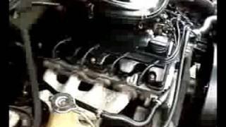 moteur mercedes au ralenti essence