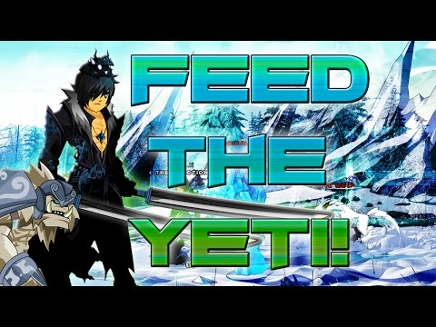AQW: Feed the Yeti! (Holiday Yeti Pet Quest!)