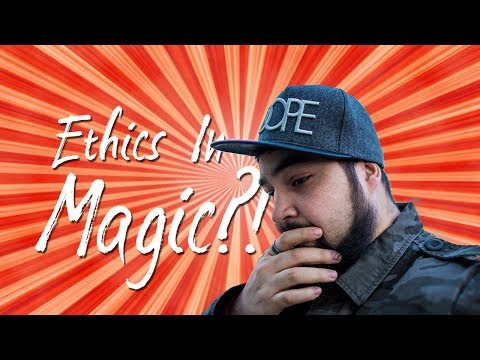 Theft, Ethics and Rights in magic. Open Discord Chat.