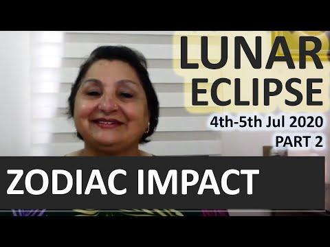Lunar Eclipse Of 4th-5th Jul 2020 - Every Zodiac TRANSFORMATION Guide