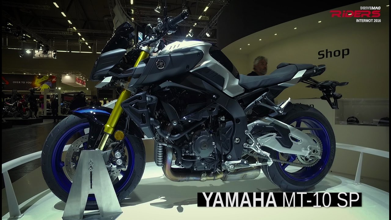 2017 Yamaha MT-10 SP [FZ-10] First View | Intermot