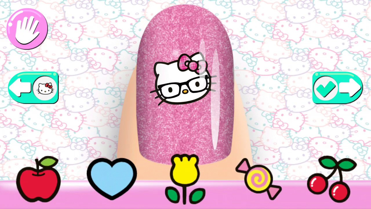 Hello Kitty Tirnak Boyama Oje Sürme Boyama Oyunu Youtube