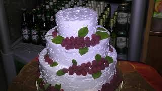 Свадебный торт Яна и Оксаны Лучшая цыганская свадьба в Трубчевске В БРЯНСКЕ ВИДЕОСЪЁМКА Горбачук