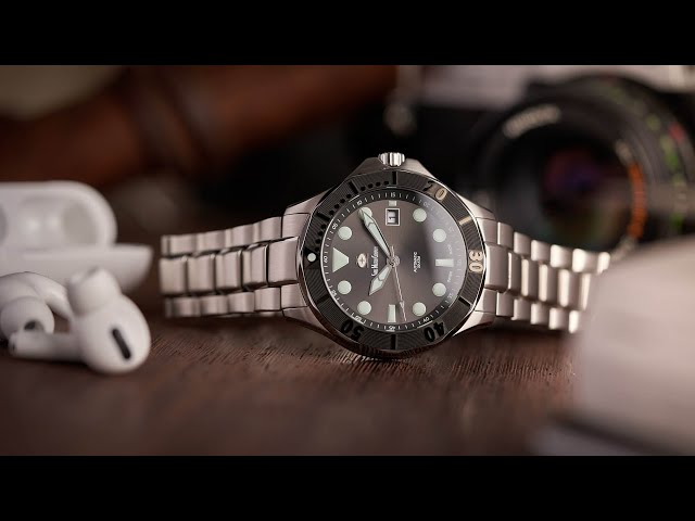 Swiss Watch Company MKII Diver Video Review - Watch Clicker