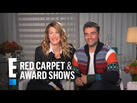 How Laura Dern & Oscar Isaac Became Friends on