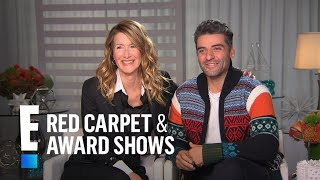 "How Laura Dern & Oscar Isaac Became Friends on ""Star Wars"" 