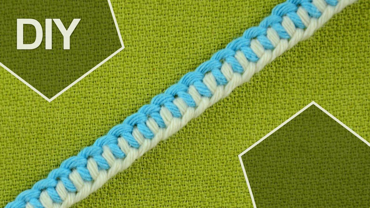 how to tie a half hitch knots zipper bracelet youtube. Black Bedroom Furniture Sets. Home Design Ideas